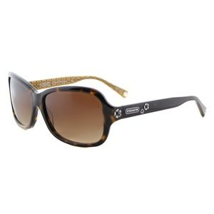 Coach HC 8016 Ciara Dark Tortoise Sunglasses